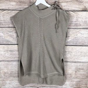 Jessica Simpson | Cable Knit Blouse